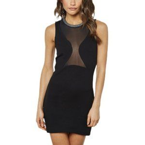 🦩3/$23 | TopShop Rhinestone Collar Bodycon Dress